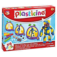 Buy Plasticine Monster Maker Kit Online at johnlewis.com