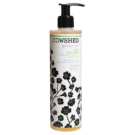 Buy Cowshed Grubby Cow Zesty Hand Wash, 300ml Online at johnlewis.com