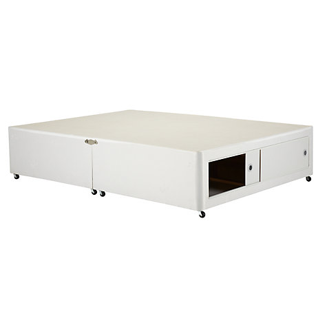 Buy John Lewis The Basics Slide Store Divan Set, Double Online at johnlewis.com