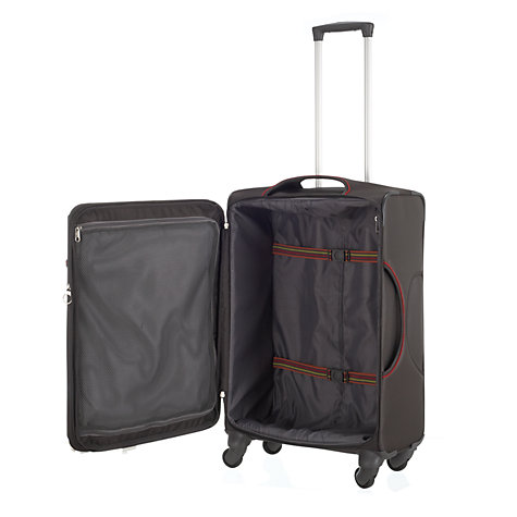 Buy Samsonite B-Lite Fresh 4-Wheel Medium Suitcase, Charcoal Online at johnlewis.com