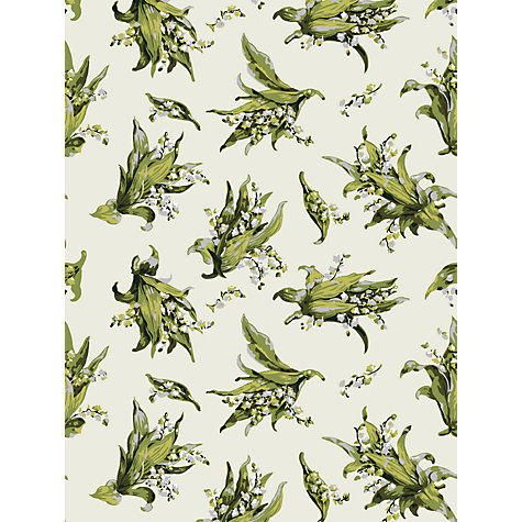 Buy Cole & Son Lily of the Valley Wallpaper, Ivory, 91/2005 Online at johnlewis.com