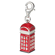 Buy Jou Jou Red Phone Box Charm Online at johnlewis.com