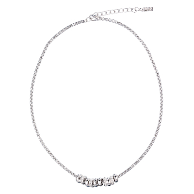 Finesse Crystal Ring Necklace