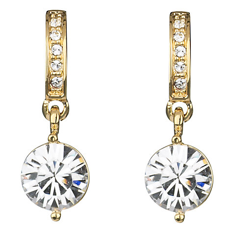 Buy Finesse Swarovski Crystal Drop Earrings Online at johnlewis.com