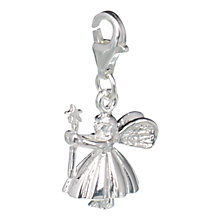 Buy Jou Jou Silver Fairy Charm Online at johnlewis.com