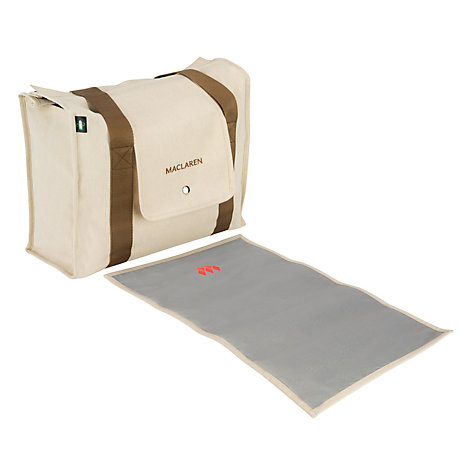 Buy Maclaren Beach Bag, Natural Canvas Online at johnlewis.com