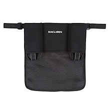 Buy Maclaren Universal Buggy Organiser, Black Online at johnlewis.com