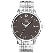 Buy Tissot T0636101106700 Tradition Men's Bracelet Watch Online at johnlewis.com