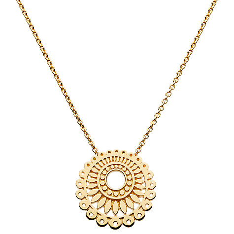 Buy Kit Heath Gold Plated Chantilly Necklace Online at johnlewis.com