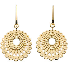 Buy Kit Heath Gold Plated Chantilly Drop Earrings Online at johnlewis.com