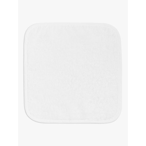 Buy John Lewis Baby Flannels, White Cotton, Pack of 5 Online at johnlewis.com