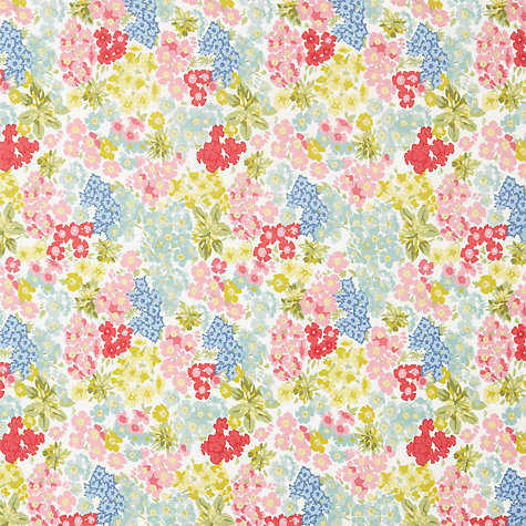 Buy John Lewis Posy PVC Tablecloth Fabric, Multi Online at johnlewis.com