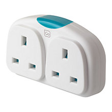 Buy Design Go Adapter Duo, White Online at johnlewis.com