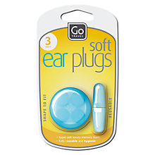 Buy Go Travel Ear Plugs, Blue Online at johnlewis.com