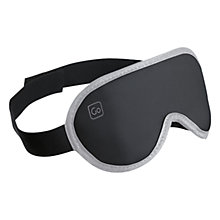 Buy Design Go The Nightshade Sleep Eye Mask, Black Online at johnlewis.com