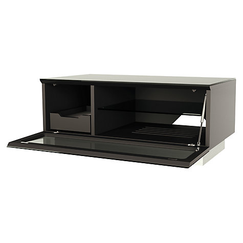 Buy Alphason Element 850 TV Stand for TVs up to 37-inch, Black Online at johnlewis.com