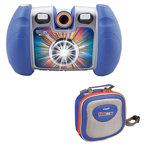 Buy VTech Kidizoom Twist Digital Camera, Blue Online at johnlewis.com