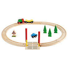 Buy Railway Crossing Set Online at johnlewis.com