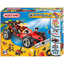 Buy Meccano Build & Play Racing Car Online at johnlewis.com