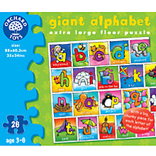 Buy Giant Alphabet Puzzle Online at johnlewis.com