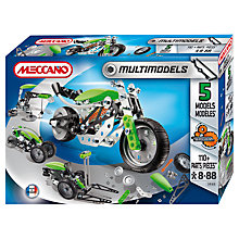 Buy Meccano 5 Multi Model Set Online at johnlewis.com