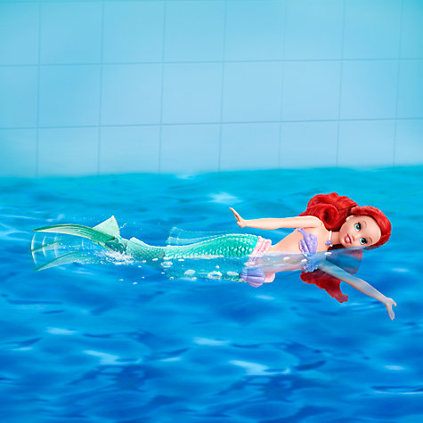 Buy Disney Princess Swimming Ariel Doll Online at johnlewis.com