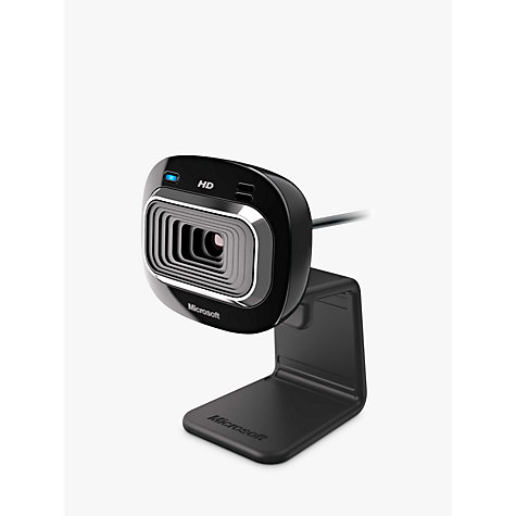 Buy Microsoft LifeCam HD-3000 HD Webcam Online at johnlewis.com