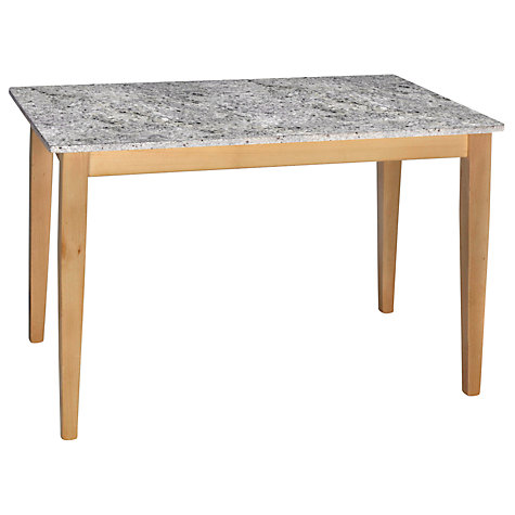 Buy HND Katrina Bar Table, Kashmir White Online at johnlewis.com