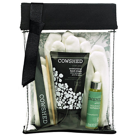 Buy Cowshed Cow Pat Manicure Set Online at johnlewis.com