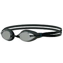 Buy Speedo Aquasocket Mirror Goggles, Black/Silver Online at johnlewis.com