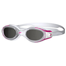 Buy Speedo Futura Biofuse Goggles, Pink/Smoke Online at johnlewis.com