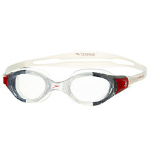 Buy Speedo Junior Futura Biofuse Goggles, Clear Online at johnlewis.com