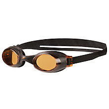 Buy Speedo Rapide Goggles, Black/Amber Online at johnlewis.com