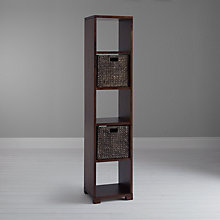 Buy John Lewis Stowaway Low Bookcase Online at johnlewis.com