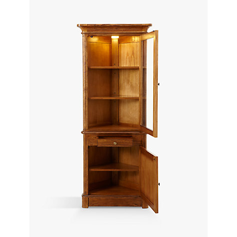 Buy John Lewis Hemingway Corner Display Cabinet Online at johnlewis.com