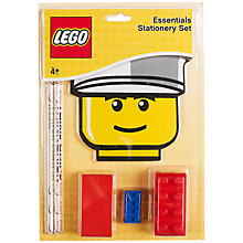 Buy LEGO Essential Stationery Set Online at johnlewis.com