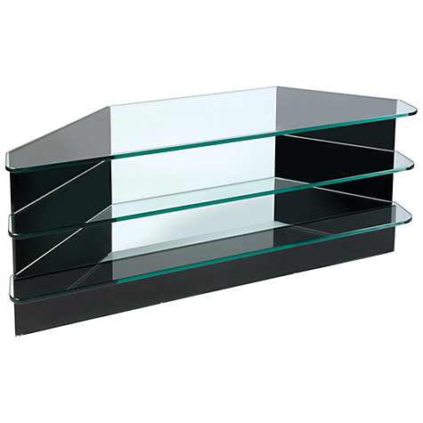 "Buy Greenapple GL59291HZW Flair Television Stand for TVs up to 42"", Black Online at johnlewis.com"