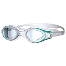 Buy Speedo Futura Biofuse Ladies Goggles, Green/Clear Online at johnlewis.com