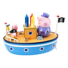 Buy Peppa Bathtime Boat Online at johnlewis.com