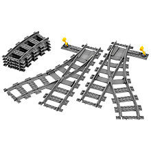 Buy LEGO City Switch Tracks Online at johnlewis.com