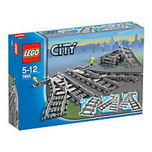 Buy LEGO City Switch Train Tracks Online at johnlewis.com