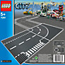LEGO City T-Junction and Curve Road Plates