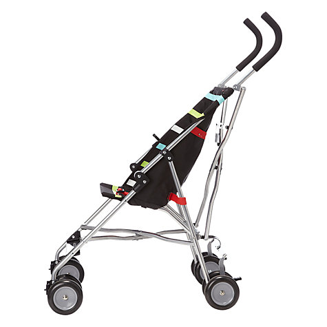 Buy John Lewis Striped Travel Stroller, Multicoloured Online at johnlewis.com