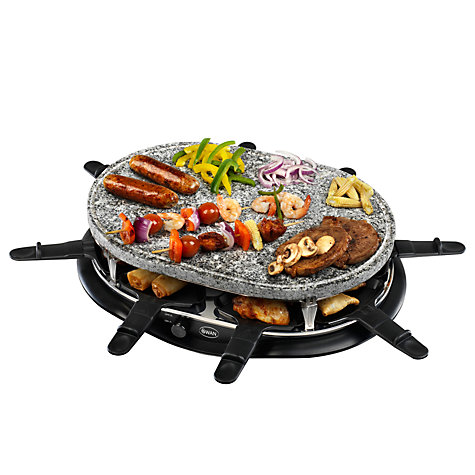 Buy Swan SP17030N Stone Raclette Online at johnlewis.com
