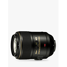 Buy Nikon 105mm f/2.8G AF-S VR Micro Lens Online at johnlewis.com