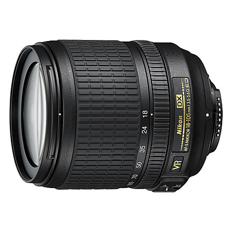 Buy Nikon 18-105mm f/3.5-5.6G ED VR Zoom Lens Online at johnlewis.com