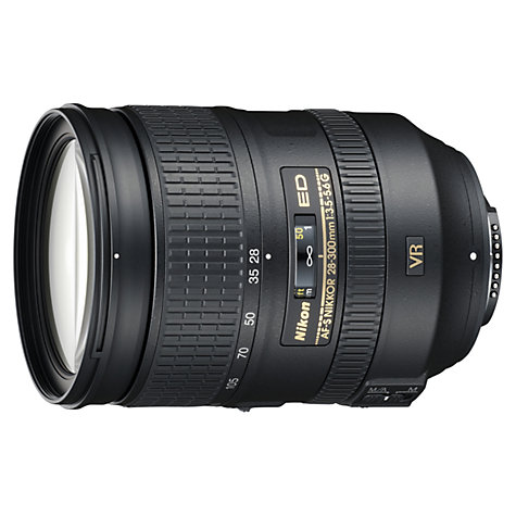 Buy Nikon 28-300mm f3.5-5.6G VR AF-S Telephoto Lens Online at johnlewis.com