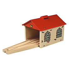 Buy Brio Engine Shed Online at johnlewis.com