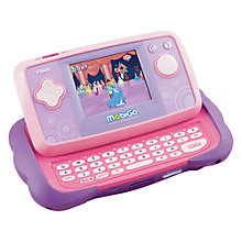 Buy VTech Mobigo with Disney Princess Game, Pink Online at johnlewis.com