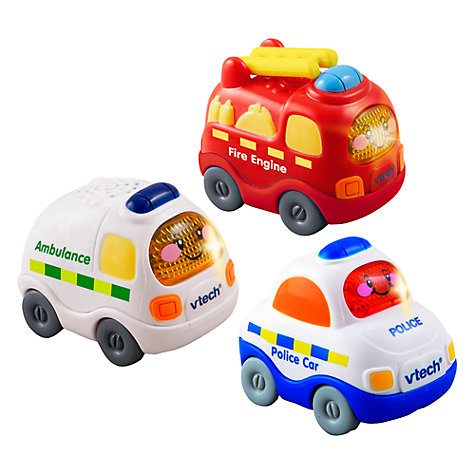 Buy VTech Toot Toot Drivers Emergency Vehicles Online at johnlewis.com